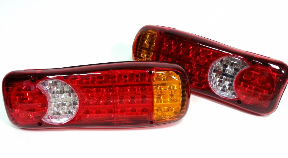 Комплект LED Диодни стопове 12V Волта бус камион ТИР ремарке