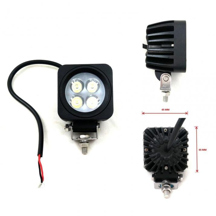 4 LED Халоген Светлина Работна Лампа 10-30V за Ролбар АТВ, Джип