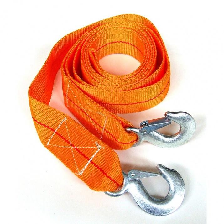 Въже за теглене 5т с метални куки