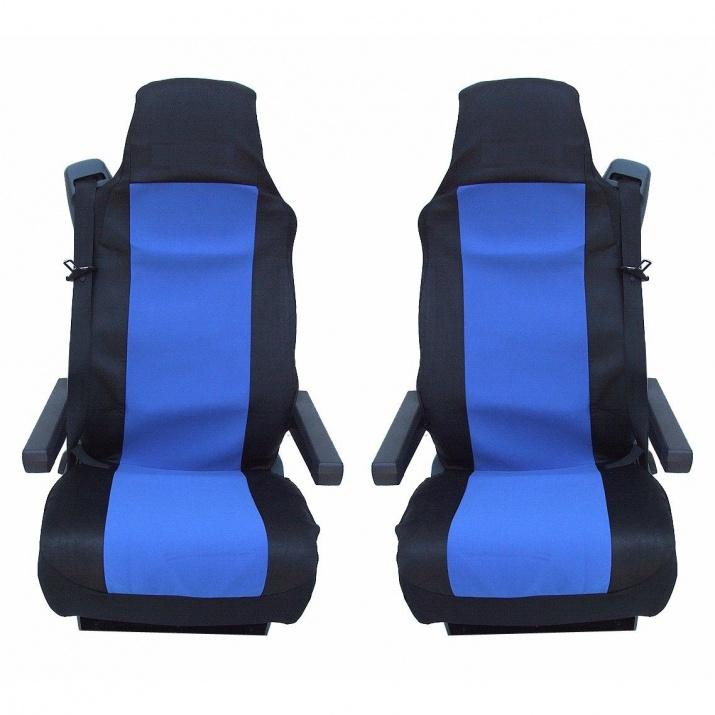 Калъф/тапицерия за седалки за DAF CF,LF,XF 95,XF 105, Сини
