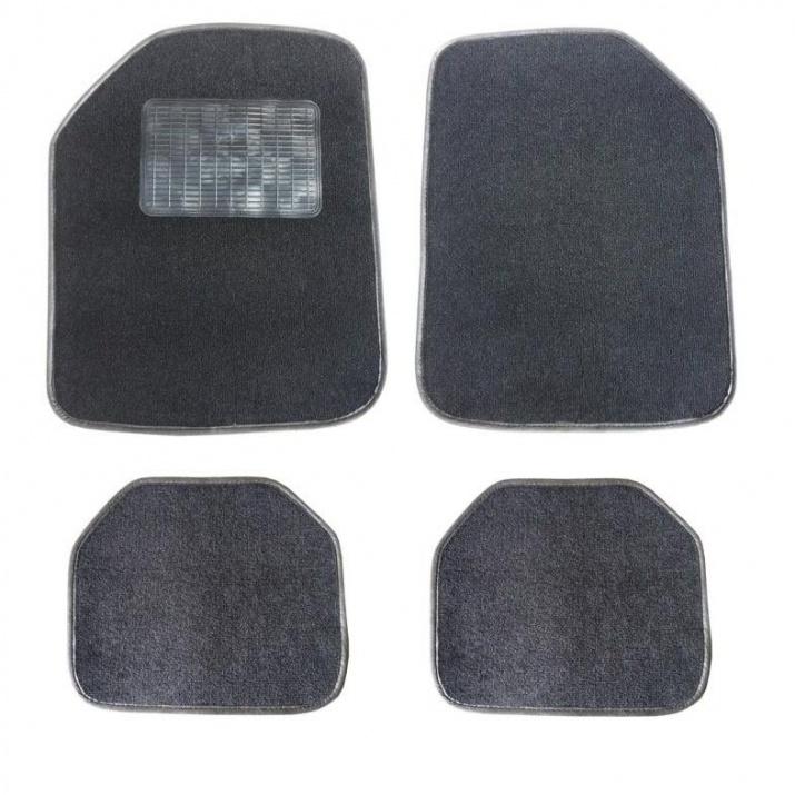 Комплект автомобилни стелки Мокет PVC 4 Части Универсални