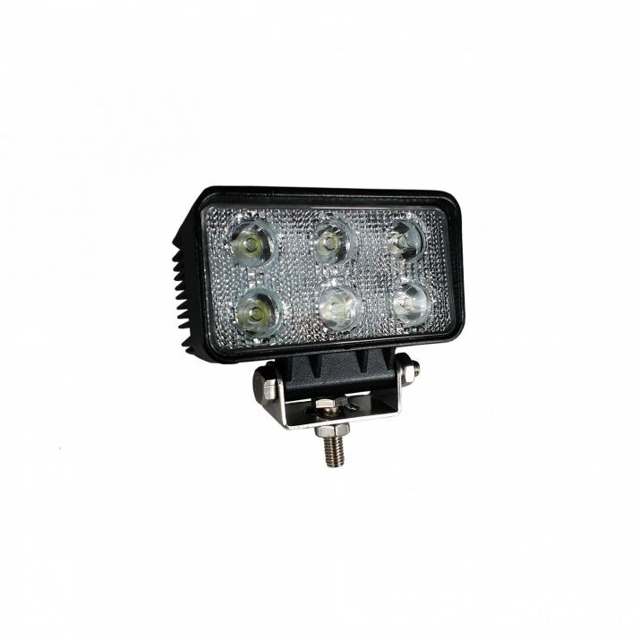 LED DRL дневни халогени светлини фар работна лампа Flexzon 12/24V