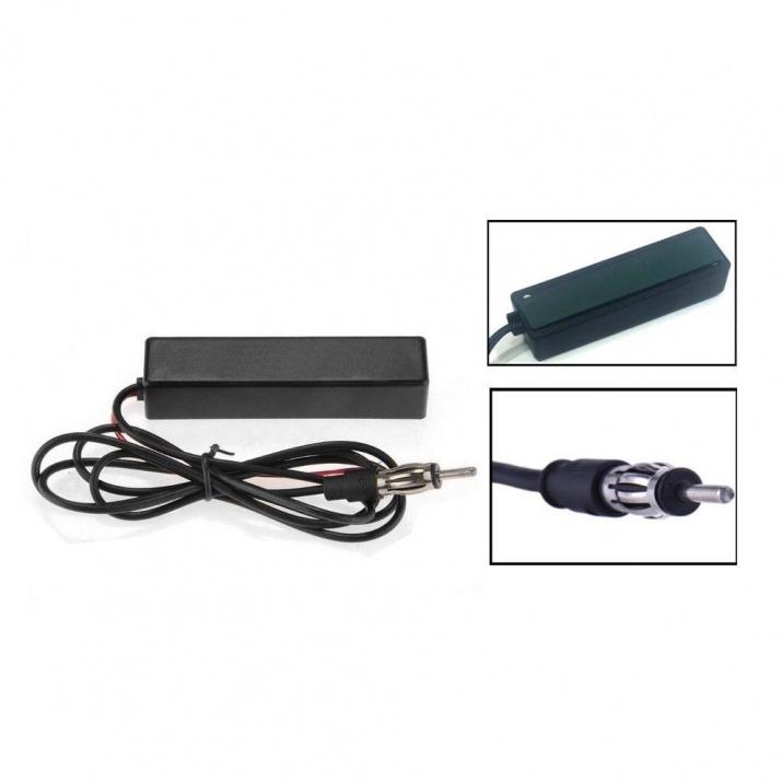 FM/AM вътрешна радио антена за автомобил с усилвател