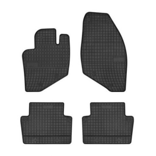 Гумени стелки за Волво Volvo S60 I 2000 - 2009, S80 I 1998 - 2006, V70 2000 - 2006, Комплект висококачествени Frogum