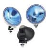 23см - халогенен фар / светлини за мъгла - насочена светлина - синьо релефно стъкло - 12/24V