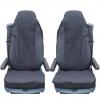 Калъф/тапицерия за седалки Flexzon за DAF CF, LF, XF 95, XF 105, Черни