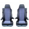Комплект Калъфи / тапицерия за седалки за SCANIA 4 114, 124, 144, 164, 94, Сиви