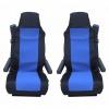 Калъф/тапицерия за седалки за VOLVO FL,FE,FM16,FH16,FH12, Сини