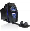 Двойно USB Универсално Зарядно за Вграждане Коли , Мотори , Лодки 3.1А