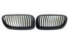 Черни матирани, мат решетки бъбреци за BMW E92 E93 3-та серия Facelift