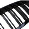 Бъбреци Решетки За БМВ BMW F10 F11 Черен Гланц Лак М5 Тип След 2010