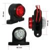 1 Брой LED мини светлини тип рогче за камион Ремарке Платформа Тип Очички 12V 24V