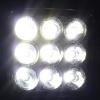 Комплект 2 Брoя Квадратни 27W Мини Диоден Фар Прожектор Дневни Светлини Диодна Лампа Нови