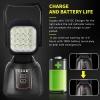 Мощна 48W LED Лед Aкумулаторна Работна Лампа С Магнит 2800 lm 7200 mAh