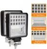 Супер Мощна 126W LED ЛЕД Диоден Фар Работна Лампа Прожектор Задна Светлина 2600 Лумена 12V  / 24V