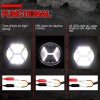 126W LED 42 ЛЕД Диоден Фар Кръгла Работна Лампа Прожектор Задна Светлина 12V 24V 2100 Лумена