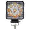 27W Мини Диоден Фар Прожектор Дневни Светлини Диодна Лампа 12V 24V Слим Slim