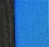 Универсален комплект тапицерия (калъфи) за седалки - черна със синьо