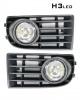 LED Халогени с решетки за VW Volkswagen Golf 5 2003 - 2009 - Фолксваген Голф 5 фарове за мъгла