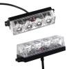 4 LED Аварийна Лампа За Пътна Помощ, Жълта Блиц Светлина, Мигаща!
