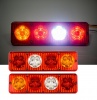 Комплект LED стопове мигач задна светлина 24V за камион, бус, ТИР,  ремарке