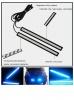 LED Синя светодиодна дневна светлина за автомобил 12V COB DRL