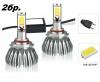 2бр. LED 24W 3000lm диодни Крушки H7 12V 24V