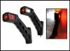 Комплект LED габарити светлини тип рогче за камион, ремарке 12/24V