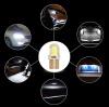 LED Лед Диодни Крушки За Габарит, Силикон, COB, Т10 W5W, 300lm, 12V, Бели