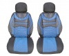 Луксзони калъфи тапицерия за седалки тип масажор с лумбална опора  Premium 1 - сини-черни