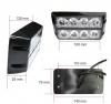 8 LED Аварийна Лампа За Пътна Помощ, Жълта Блиц Светлина, Мигаща!