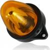 Въртяща сигнална/аварийна оранжева LED лампа 24V 12V Маяк нова