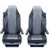 Калъф/тапицерия за седалки Flexzon за DAF CF,LF,XF 95,XF 105, Сиви