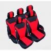 Калъфи/тапицерия текстил Flexzon за Ford S-MAX, C-MAX, VW Touran, Sharan, Toyota Corolla Verso, Червени