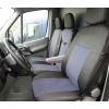 Калъфи/тапицерия текстил за предни седалки за Mercedes Sprinter, Volkswagen Crafter, Сиви