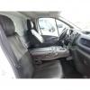 Калъфи/тапицерия за предни седалки за Opel Vivaro 2014+ / Renault Traffic, черни, еко кожа
