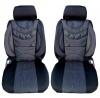 Луксзони калъфи тапицерия за автомобилни седалки тип масажор с лумбална опора Premium 1 черни