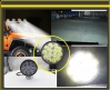42W Кръгъл Мини Led Диоден Фар Прожектор Дневни Светлини 12V 24V Слим Slim