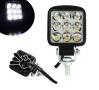 LED Халоген Квадратна Диодна Работна Лампа Диоден Фар Прожектор Задна Светлина 1350lm 27W